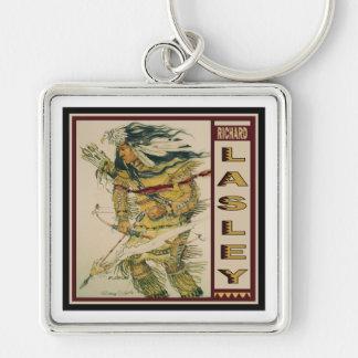 Warrior with Flaming Arrow keychain