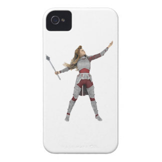 Warrior with Mace iPhone 4 Case