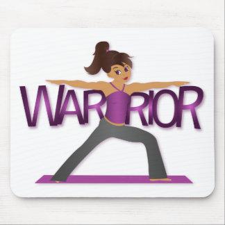 Warrior Yoga Girl Mousepad
