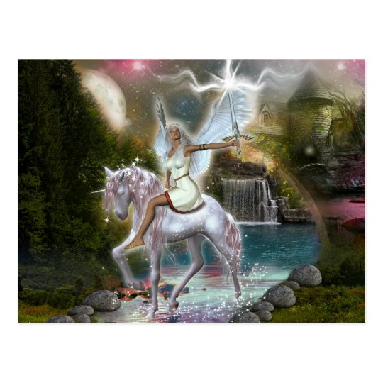 Warrioress Postcard