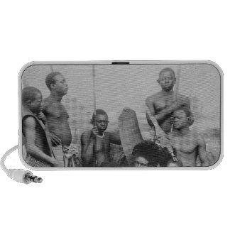 Warriors, Belgian Congo, 1894 Mini Speaker
