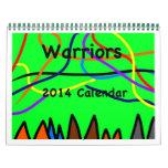 Warriors Calendar