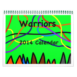 Warriors Calendar