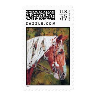 Warriors Horse Custom Stamps