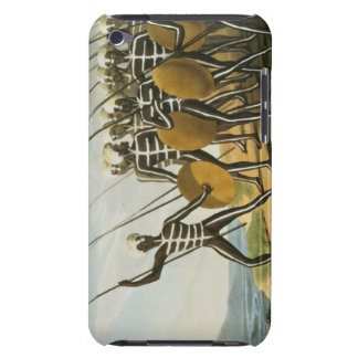 Warriors of New S. Wales engraved by M. Dubourg (f iPod Case-Mate Cases