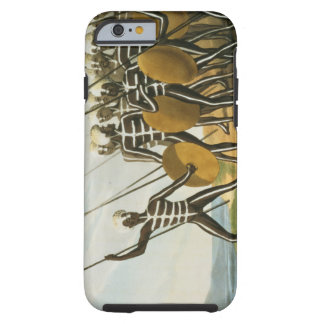 Warriors of New S. Wales engraved by M. Dubourg (f Tough iPhone 6 Case