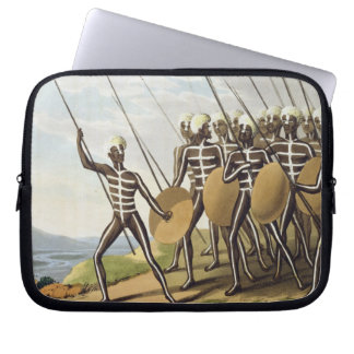 Warriors of New South Wales, engraved by Matthew D Laptop Sleeve