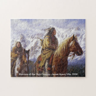 Warriors of the High Country, James Ayers puzzle