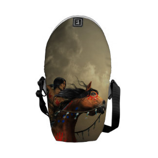 Warriors of the Plains Courier Bag