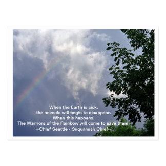 Warriors of the Rainbow Postcard