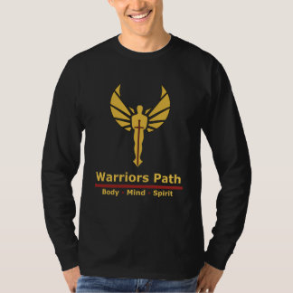 Warriors Path - Peaceful Warrior Grey Long Sleve T-Shirt
