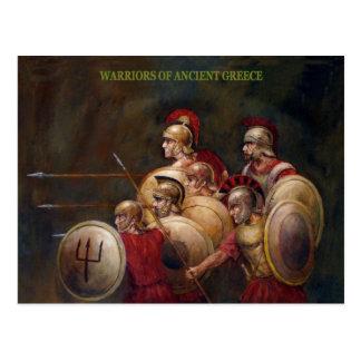 Warriors Postcard
