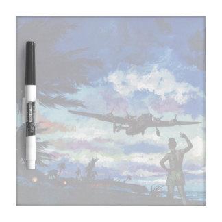 Warrior's Return Dry Erase Board