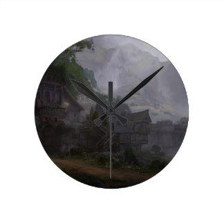Warrior's Tavern Round Clock