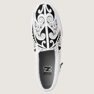 Warriors Together Tribal Slip-On Sneakers