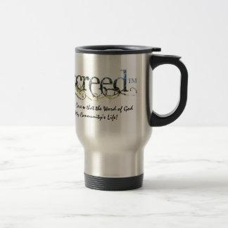 WarriorsCreed Dismantling Fears Travel Mugs