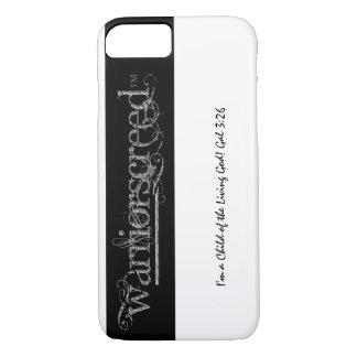 WarriorsCreed Gray Stone Logo Stripe iPhone 7 Case