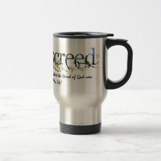 WarriorsCreed Perpetuating Word Travel Mugs