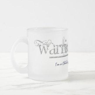 WarriorsCreed Stone Logo Frosted Mug