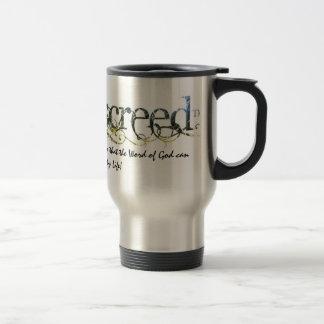 WarriorsCreed Strengthening Words Travel Mugs