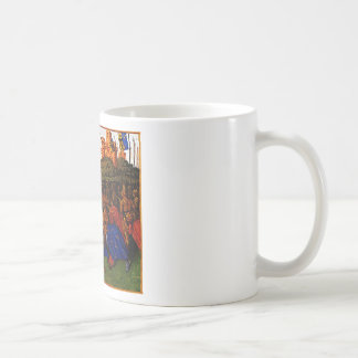 Wars of Charlemagne by Jean Fouquet Coffee Mug