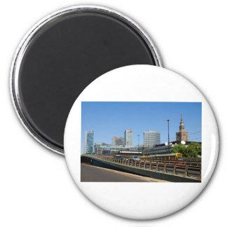 Warsaw 2 Inch Round Magnet