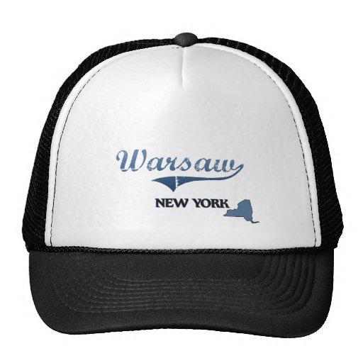 Warsaw New York City Classic Mesh Hat