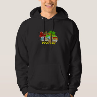 Warsaw - Poland.png Hooded Pullover