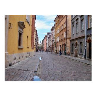 Warsaw, Poland Postcard