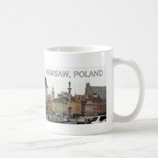 WARSAW POLAND STARE MIASTO OLD TOWN COFFEE MUGS