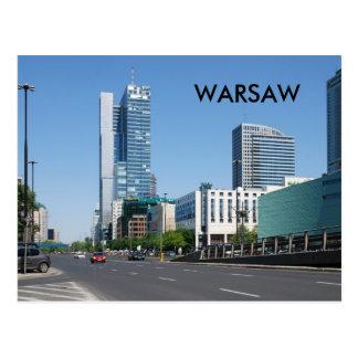 WARSAW POSTCARD