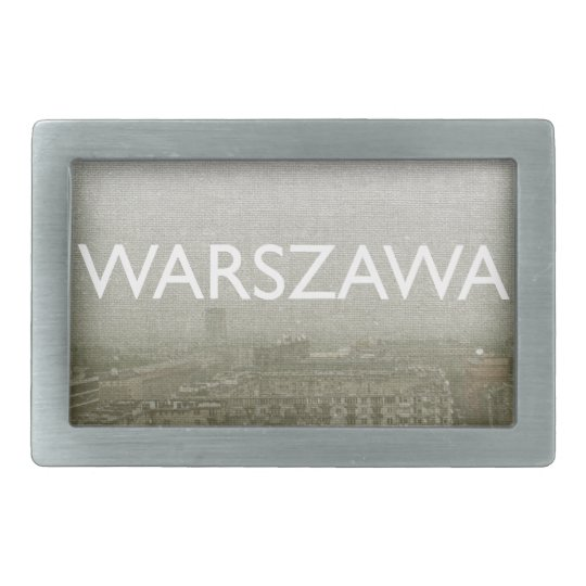 Warsaw Rectangular Belt Buckle