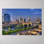 Warsaw Skyline - 2 Print