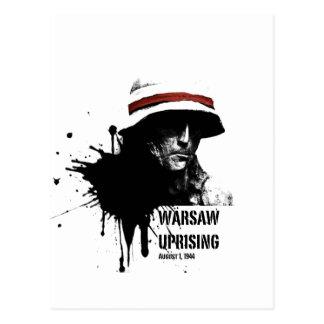 warsawup postcard