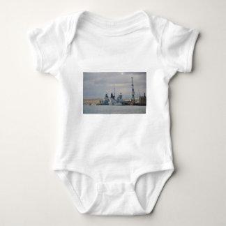 Warships In Portsmouth Baby Bodysuit