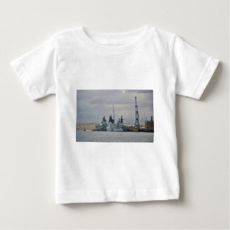 Warships In Portsmouth Baby T-Shirt
