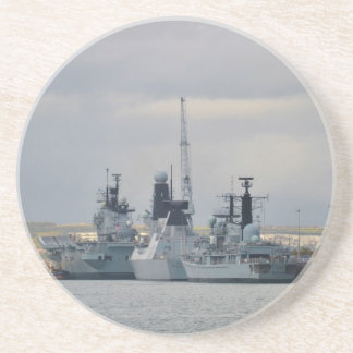 Warships In Portsmouth Coasters