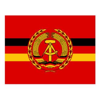 Warships Of Vm (East Germany), Germany Postcard