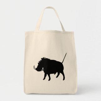 Wart Hog Tote Bag
