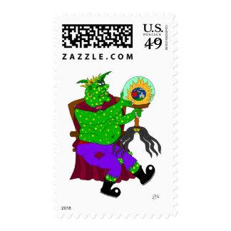 Wartarth and the magic lamp stamp