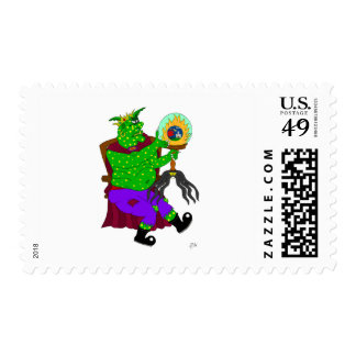 Wartarth and the magic lamp stamps