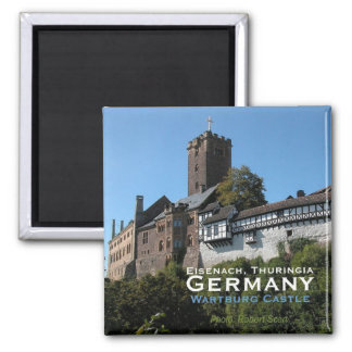 Wartburg Castle Eisenach Thuringi Germany Magnet