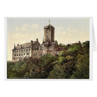 Wartburg, del este, Thuringia, Alemania P raro Felicitación