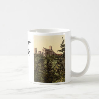 Wartburg, from Eisenach Castle, Thuringia, Germany Coffee Mug