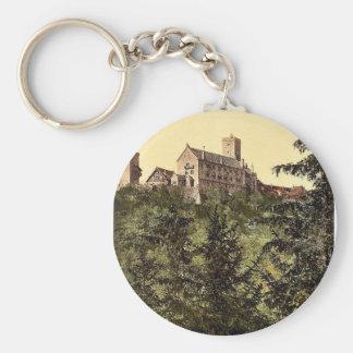 Wartburg, from Eisenach Castle, Thuringia, Germany Key Chain