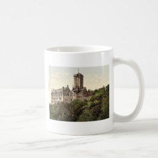 Wartburg, from the east, Thuringia, Germany rare P Classic White Coffee Mug