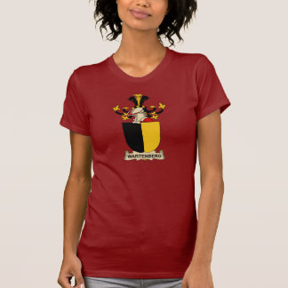 Wartenberg Family Crest Tee Shirts