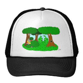 Wartglobbers talking trucker hat
