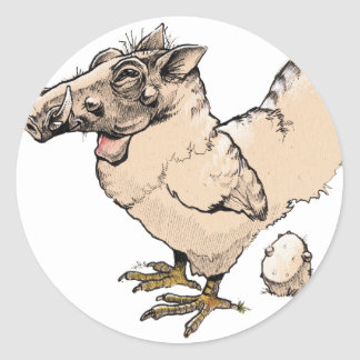 Warthen Classic Round Sticker