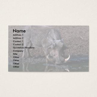 Warthog - Big Boar Business Card